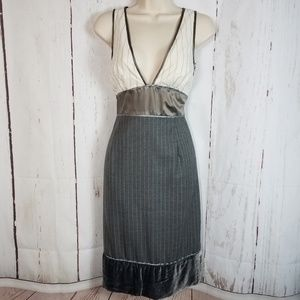 Catherine Malandrino s Low Cut Sheath Dress